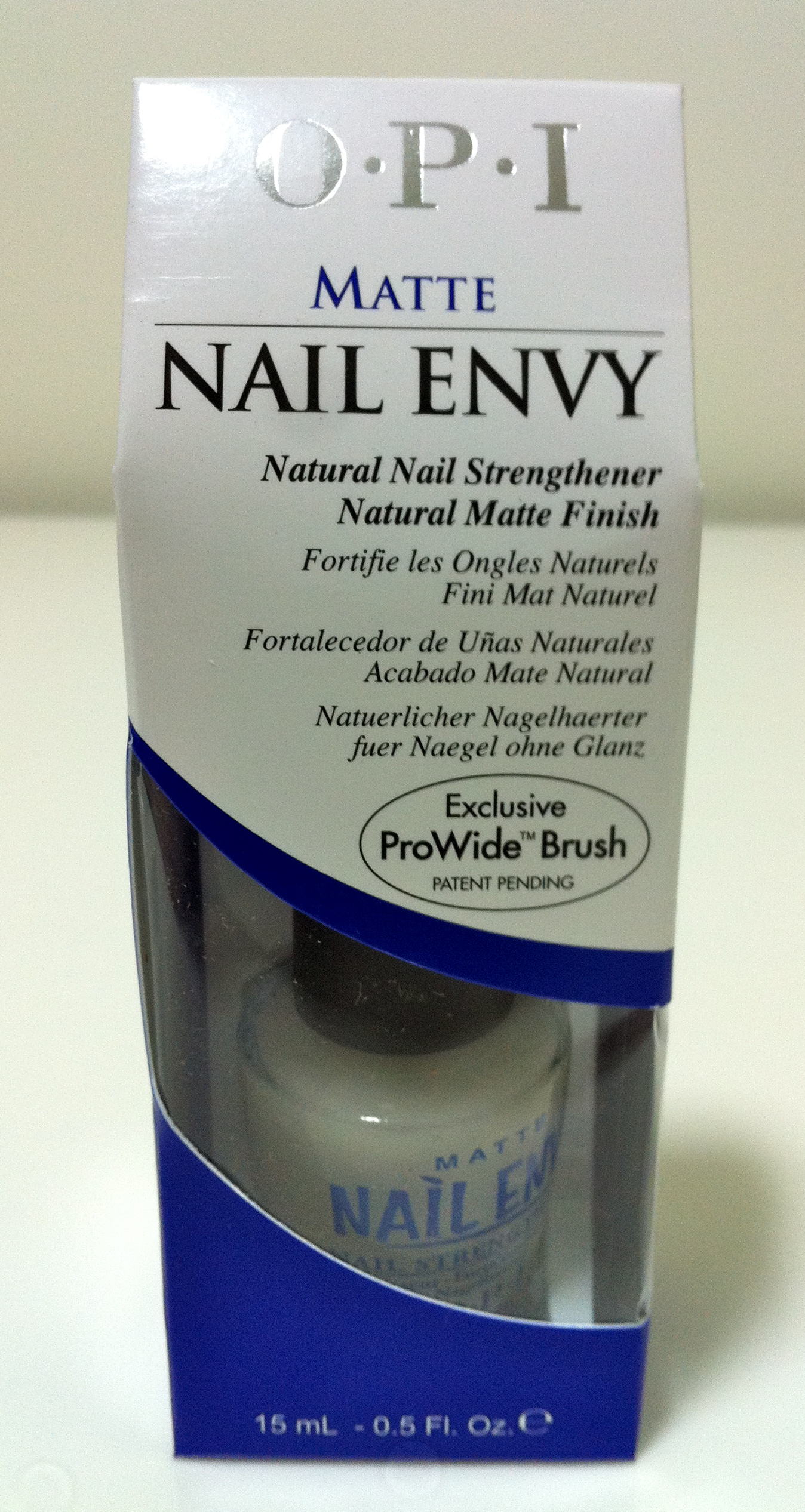 Opi Matte Nail Envy Instructions